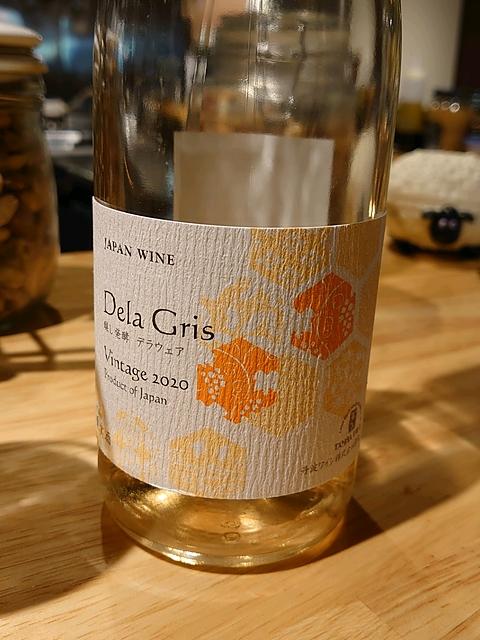 丹波ワイン Dela Gris 醸し発酵 デラウェア(デラ・グリ)