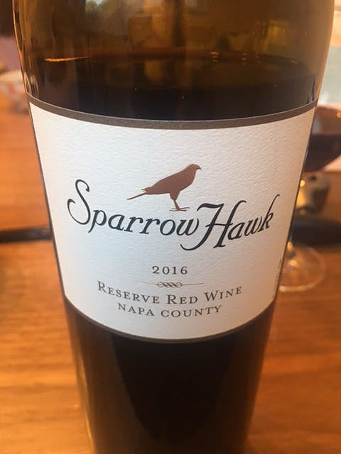 Sparrow Hawk Reserve Red Wine(スパロー ホーク リザーヴ レッド・ワイン)