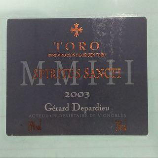 Gérard Depardieu Spiritus Sancti(ジェラール・ドパルデュー スピリトゥス・サンクティ)