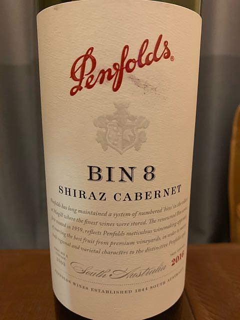 Penfolds Bin 8 Shiraz Cabernet