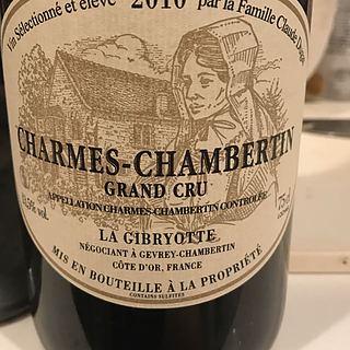 La Gibryotte Charmes Chambertin Grand Cru