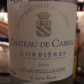Ch. de Cabriac Corbières Blanc