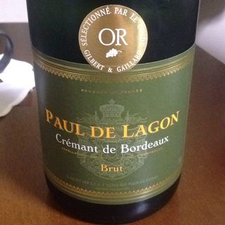 Paul de Lagon Crémant de Bordeaux Brut