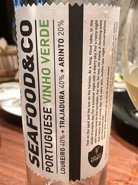 Seafood & Co Vinho Verde Branco
