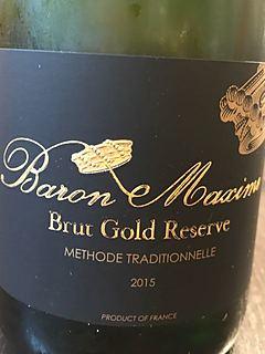 Baron Maxime Brut Gold Reserve(バロン・マキシム ブリュット・ゴールド・レゼルヴ)
