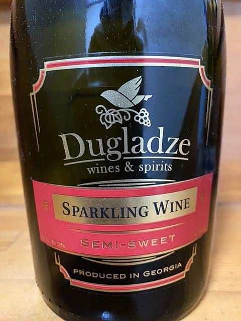 Dugladze Sparkling Wine Semi Sweet(ダグラッツェ スパークリング・ワイン セミ・スウィート)