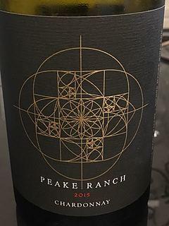 Peake Ranch Chardonnay Siera Madre Vineyard(ピーク・ランチ シャルドネ シエラ・マドレ・ヴィンヤード)