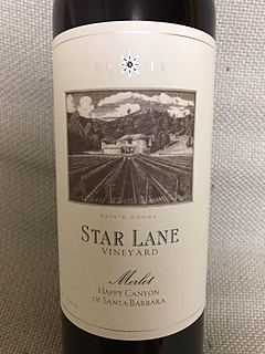 Star Lane Merlot Happy Canyon