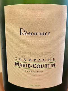 Marie Courtin Résonance Extra Brut