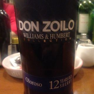 Williams & Humbert Don Zoilo Oloroso 12 Years Sherry