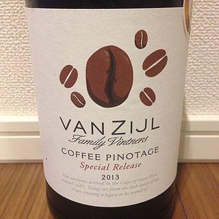 Vanzijl Coffee Pinotage(ヴァンジール コーヒー ピノ・タージュ)