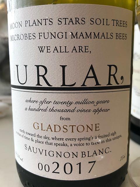 Urlar Sauvignon Blanc(アーラー ソーヴィニヨン・ブラン)