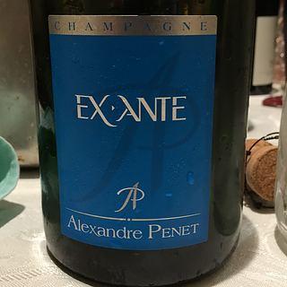 Alexandre Penet Ex Ante