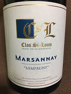 Clos St Louis Marsannay Sampagny