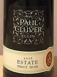 Paul Cluver Estate Pinot Noir