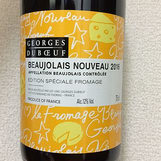Georges Duboeuf Beaujolais Nouveau Edition Speciale Fromage
