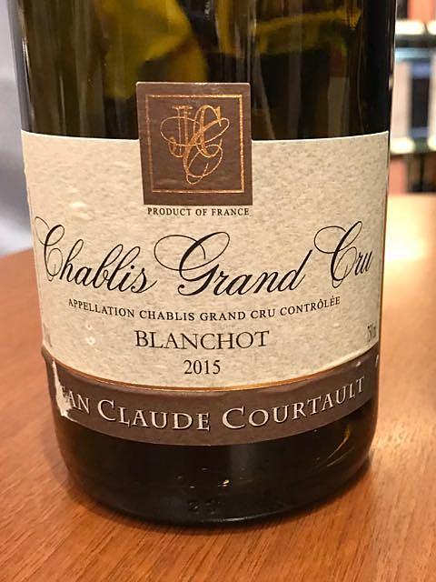 Dom. Jean Claude Courtault Chablis Grand Cru Blanchot(ドメーヌ・ジャン・クロード・コルトー シャブリ グラン・クリュ ブランショ)