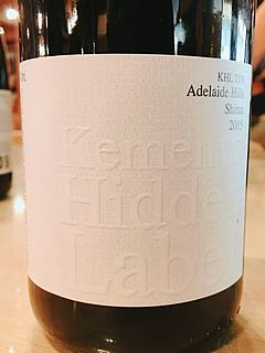 Kemenys Hidden Label KHL 2191 Adelaide Hills Shiraz