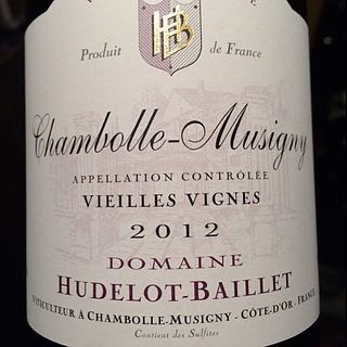 Dom. Hudelot Baillet Chambolle Musigny Vieilles Vignes