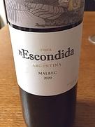 フィンカ・ラ・エスコンディダ マルベック(2020)