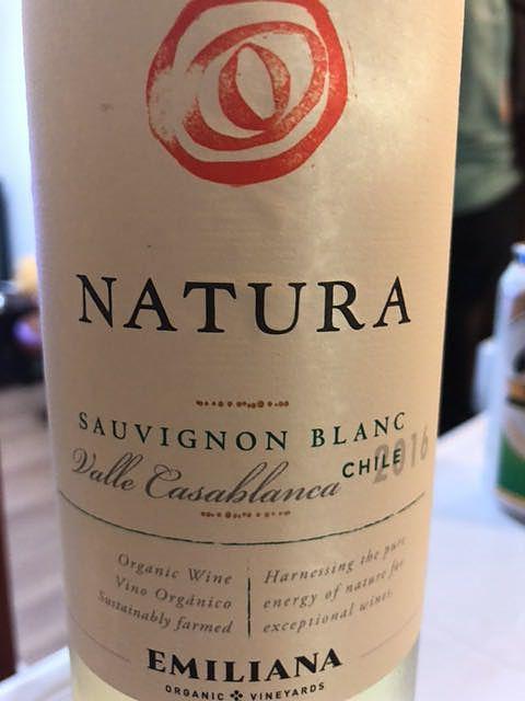 Emiliana Natura Sauvignon Blanc(エミリアーナ ナチューラ ソーヴィニヨン・ブラン)