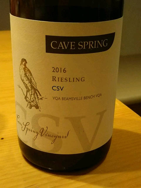 Cave Spring Riesling CSV(ケイヴ・スプリング リースリング ケイヴ・スプリング・ヴィンヤード)