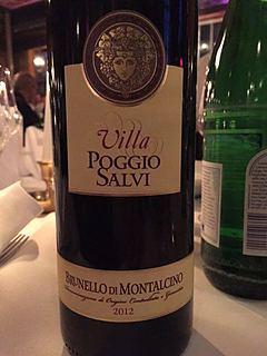 Villa Poggio Salvi Brunello di Montalcino Annata(ヴィッラ・ポッジョ・サルヴィ ブルネッロ・ディ・モンタルチーノ アンナータ)