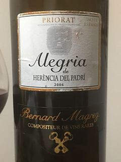 Bernard Magrez Alegria de Herencia del Padri(ベルナール・マグレ アレグリア エレンシア・デル・パドリ)