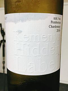 Kemenys Hidden Label KHL 7441 Pemberton Chardonnay