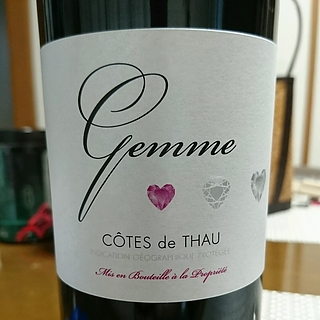 Gemme Côtes de Thau Rouge