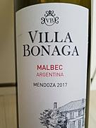 Villa Bonaga Malbec(2017)
