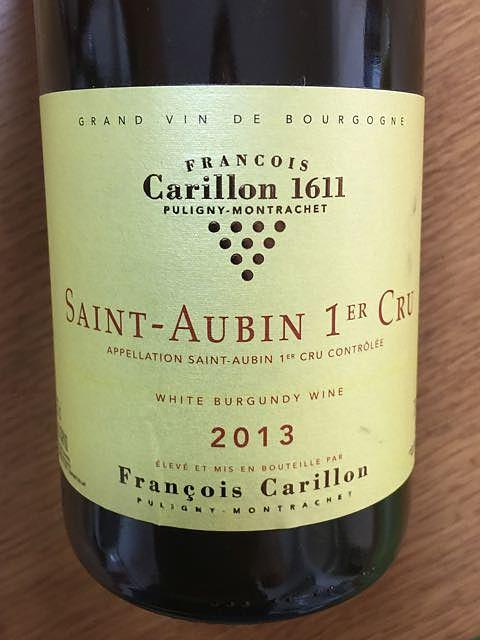 François Carillon Saint Aubin 1er Cru
