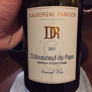 Dauvergne Ranvier Châteauneuf du Pape Rouge Grand Vin