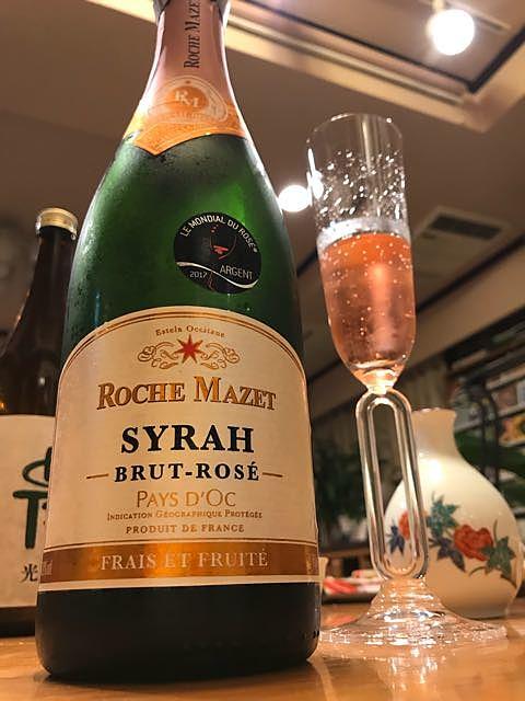 Roche Mazet Syrah Rosé Brut
