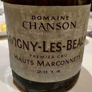 Dom. Chanson Savigny Les Beaune 1er Cru Hauts Marconnets(ドメーヌ・シャンソン サヴィニ・レ・ボーヌ プルミエ・クリュ オー・マルコネ)