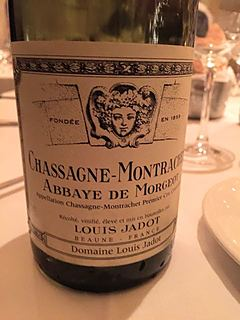 Louis Jadot Chassagne Montrachet Abbaye de Morgeot