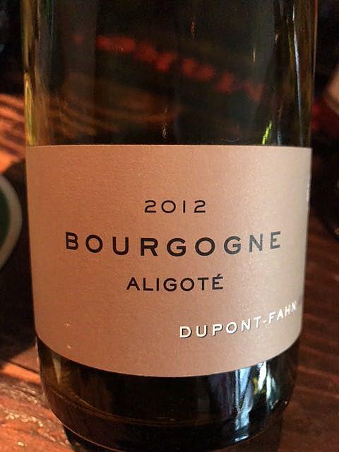 Dom. Dupont Fahn Bourgogne Aligoté