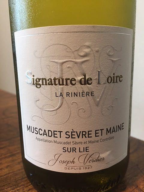 Signature de Loire Muscadet Sèvre et Maine Sur Lie
