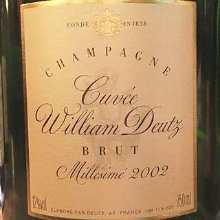 Champagne Cuvée William Deutz Brut Millésime