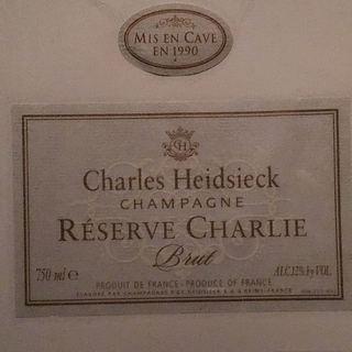 Charles Heidsieck Champagne Reserve Charlie Brut