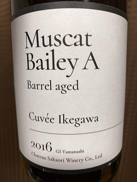 Ch. Sakaori Muscat Bailey A Barrel Aged Cuvée Ikegawa