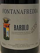 フォンタナフレッダ バローロ(2015)