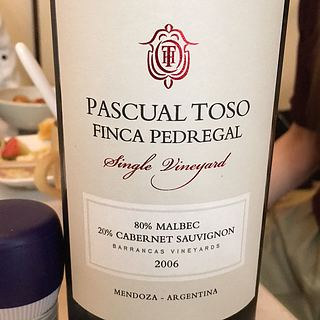 Pascual Toso Finca Pedregal Single Vineyard