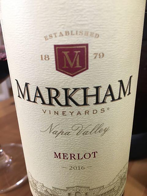 Markham Vineyards Merlot(マーカム・ヴィンヤーズ メルロ)