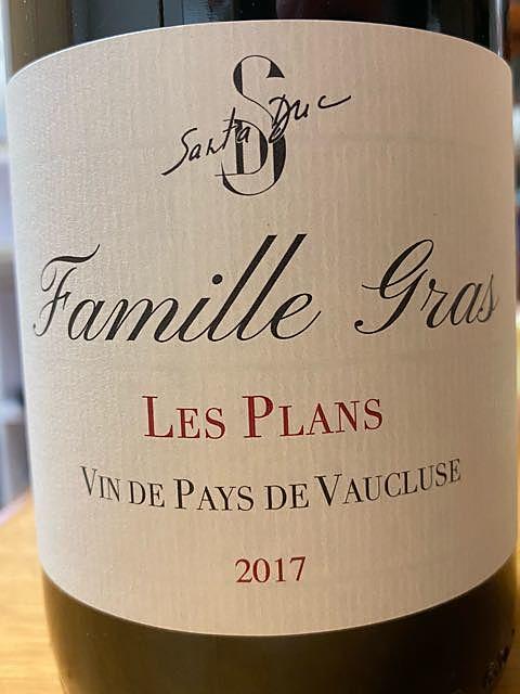 Santa Duc Vaucluse Les Plans (Famille Gras)