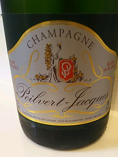 Champagne Poilvert Jacques Brut Blanc de Blancs(シャンパーニュ ポワルヴェール・ジャック ブリュット ブラン・ド・ブラン)
