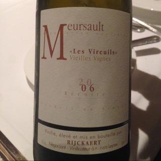 Jean Rijckaert Meursault Les Vireuils Vieilles Vignes
