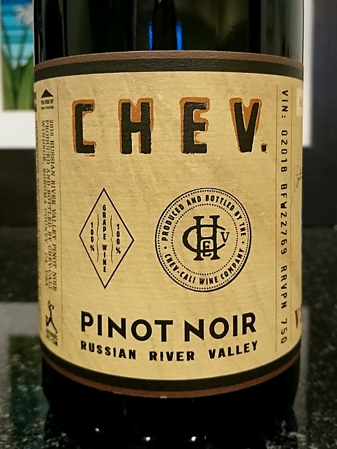 CHEV. Pinot Noir Russian River Valley