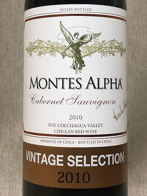 Montes Alpha Cabernet Sauvignon Vintage Selection(モンテス・アルファ カベルネ・ソーヴィニヨン ヴィンテージ・セレクション)