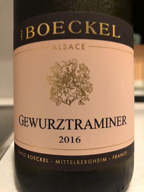 Boeckel Gewürztraminer(ボエケル ゲヴュルツトラミネール)
